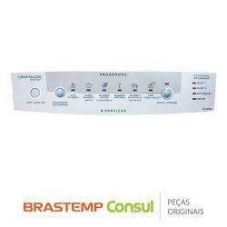 Painel Adesivo Lava Louças Brastemp Solution 8 Serviços - BLE20