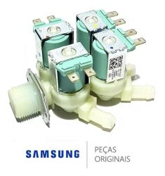 Válvula De Entrada De Água 4 Vias Samsung 127v -  DC62-00214Q