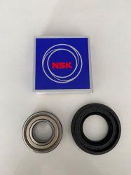Kit LG Rolamentos 6205 e 6206zz + Retentor menor - WD12596, WD1252 (Modelos na descrição)