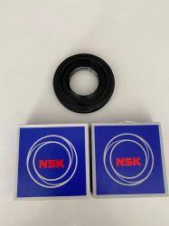 Kit LG Retentor Alsil 257 + Rolamentos 6305 e 6306zz Capa de Aço  - (Modelos na descrição)