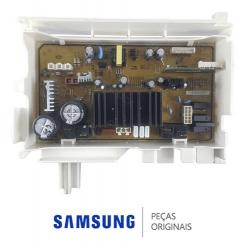 Placa de Potência Lavadora Samsung WF106 110v - Original